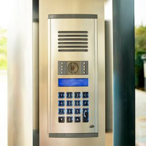 door entry intercom ultimate fire and security