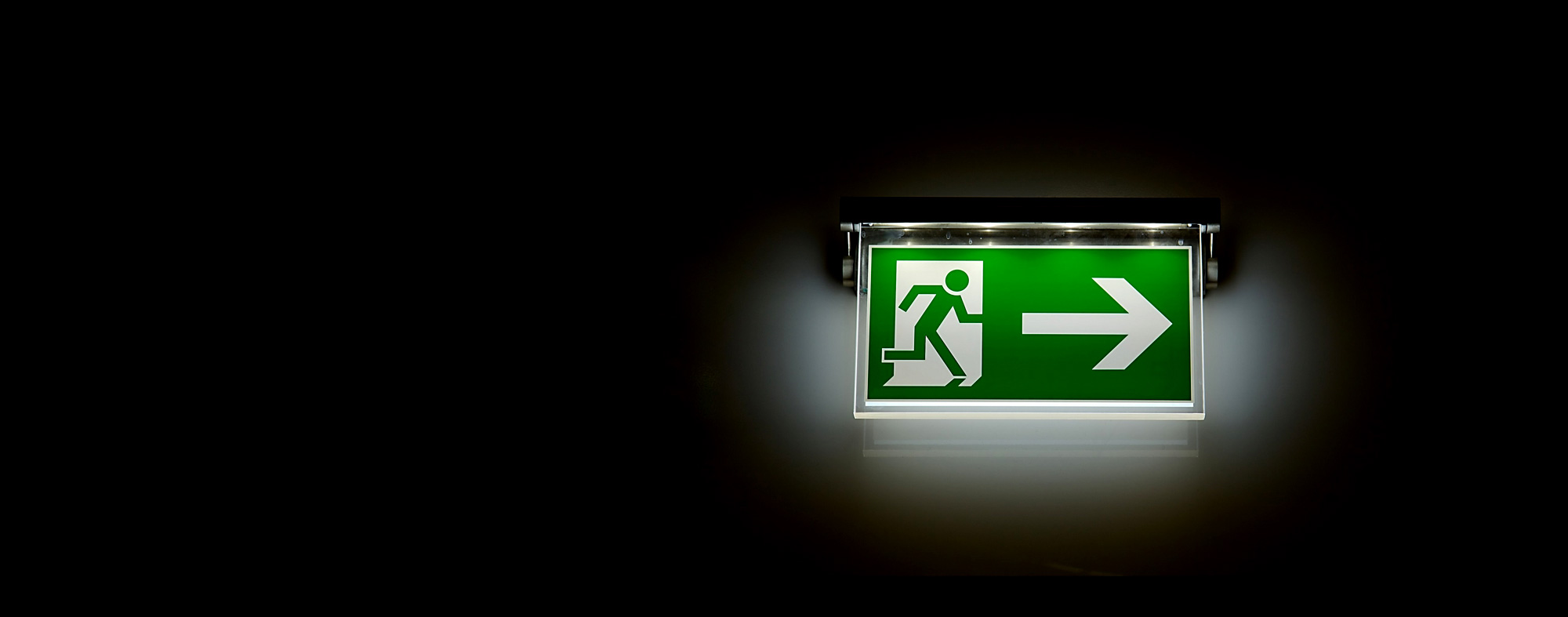 emergency lighting header