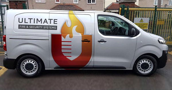 ultimate fire and security van