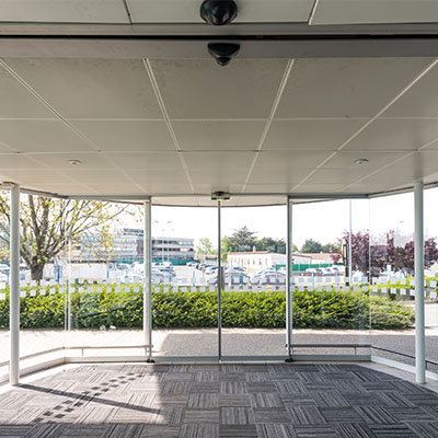 Airport Automatic Doors Ultimate Fire & Security