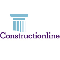 Constructionline Logo for Ultimate Fire & Security Accreditation