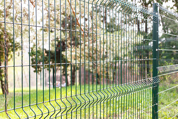 Green Wire Fencing Ultimate Fire & Security