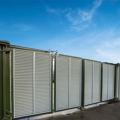 Commercial Gates Bi-fold Ultimate Fire & Security