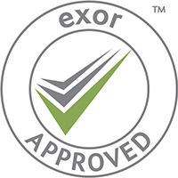 exor approved logo for Ultimate Fire & Security Accreditation
