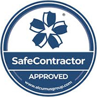 safecontactor logo for Ultimate Fire & Security Accreditation