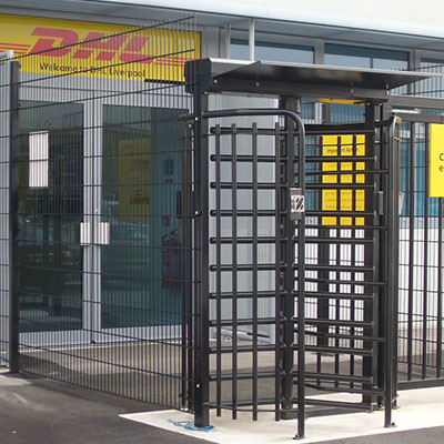 Turnstiles for DHL Ultimate Fire & Security
