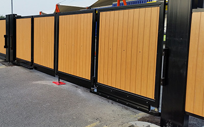 ultimate fire and security systems commercial gates
