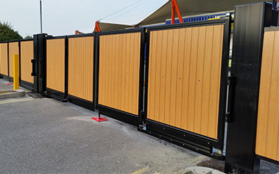 gates barriers shutters commercial gates ultimate fire and security