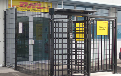 gates barriers shutters commercial turnstiles installed for factory ultimate fire and security